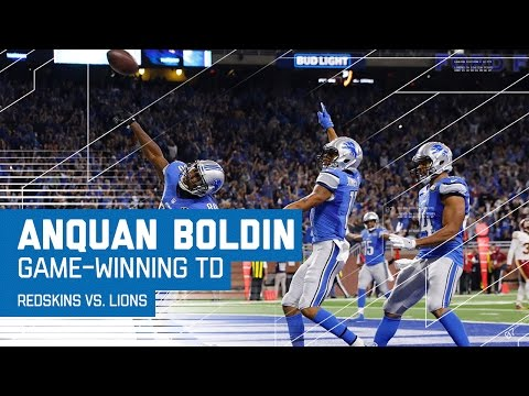 Matthew Stafford Leads Lions on Game-Winning Drive! | Redskins vs. Lions | NFL