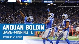 Matthew Stafford Leads Lions on Game-Winning Drive! | Redskins vs. Lions | NFL