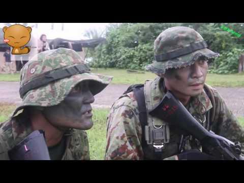 Japanese Ground Self Defense Force, U S  Marines Conduct Amphibious Raid on Guam Beach   AiirSource