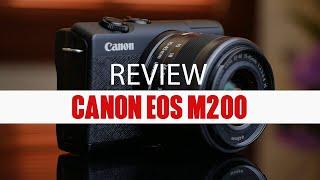 Review Canon M200 : Mirrorless compact yang makin gesit