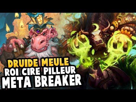 Druide meule Ft Roi Cire-pilleur - Meta Breaker