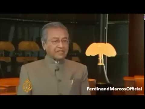 Malaysian Prime Minister: We were afraid of Marcos