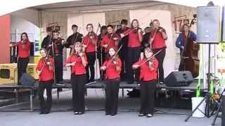 Bow Valley Fiddlers at the Calgary Lilac Festival