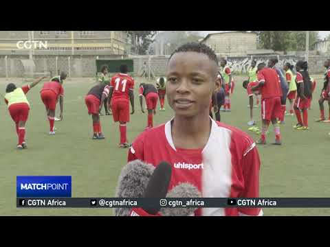 Harambee starlets start early preparations for match against Malawi