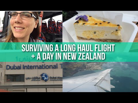 16 Hour Non-Stop Flight + Vegan in Auckland