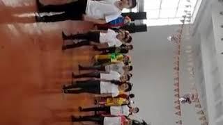 7-в класс танец на новый год