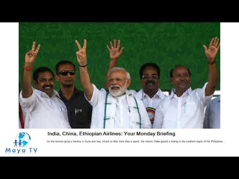 India, China, Ethiopian Airlines: Your Monday Briefing Mp3