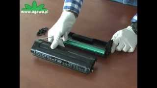 Samsung ML 2165 - instrukcja regeneracji tonera do drukarki laserowej.