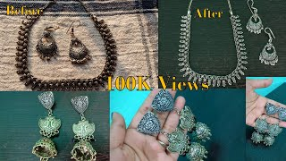 How to Clean Old Oxidized Jewellery At Home?