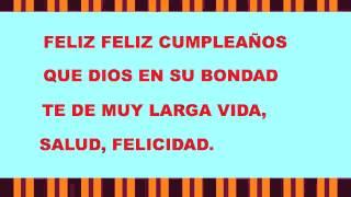 La Letra de una canción religiosa de cumpleaños 1 - Happy Birthday