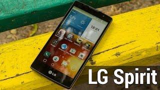 LG Spirit обзор от FERUMM.COM. Подробный обзор LG Spirit. Отличный двухсимник по адекватной цене