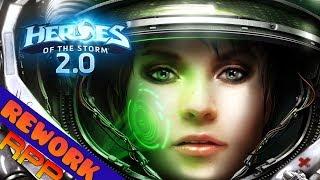 Hekran | Morales Rework - Heroes of the Storm 2.0 | Gameplay español | Heroes 2.0