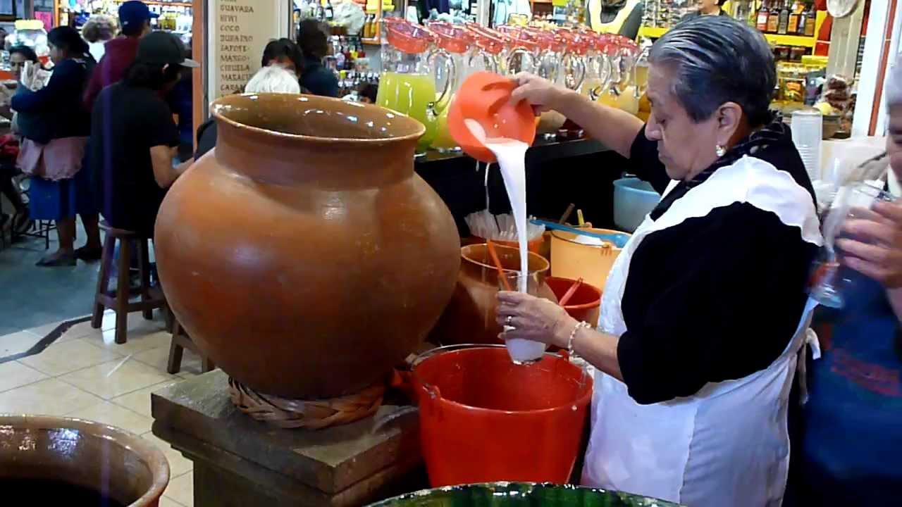 Agua De Horchata En Bolsa