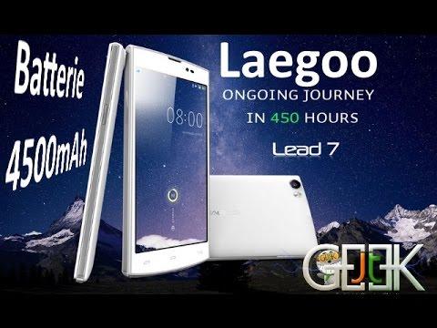 Leagoo Lead 7 batterie 4500mAh test Vidéo par GLG