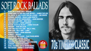 THE BEST OF SOFT ROCK BALLADS - 70s TIMELESS CLASSIC