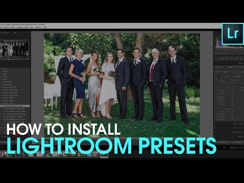 How to Install Presets for Lightroom