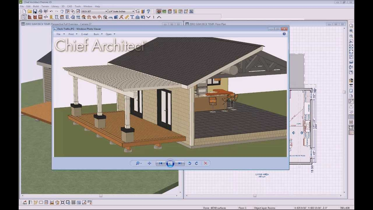 Chief Architect Quick Tip Trellis Youtube