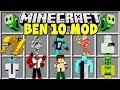 Minecraft BEN 10 MOD | DIAMONDHEAD, HEATBLAST, ALIEN X, WILDMUTT & MORE!!
