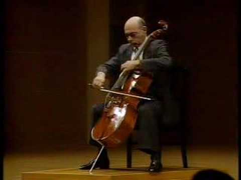Janos Starker - Cassadó Cello Suite II. Mvt