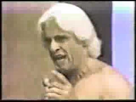 WPCQ-TV Ric Flair interview about Crockett quitting the NWA