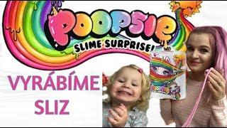 JEDNOROŽEC CO DĚLÁ SLIZ   Poopsie surprise     Playtime #4