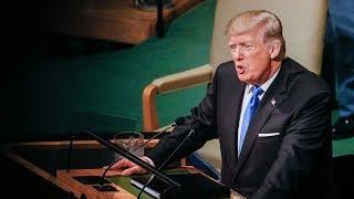 Как мировые лидеры отреагировали на речь Трампа перед Генассамблеей ООН? / Ньюзток RTVI