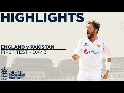 Day 3 Highlights | Yasir Takes 4 Before England Fight Back |