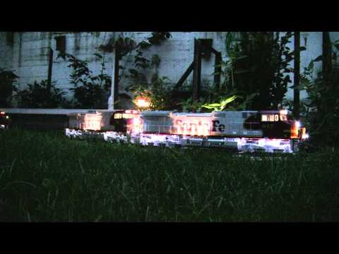 Dash 9 44CW Duo ATSF & BNSF More Than 100 LED's