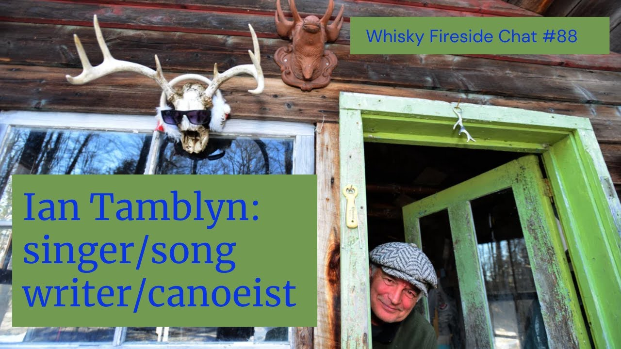 The Happy Camper whisky fireside Zoom chat with Ian Tamblyn