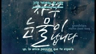 Tears Keep Falling ALi (알리) [Sub español + Romanizacion + Hangul]