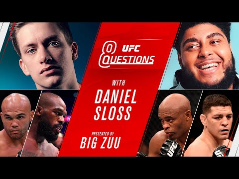 8 UFC Questions With Daniel Sloss | Diaz vs Lawler 2? Who is the GOAT?
