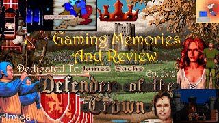 Defender Of The Crown - Amiga - Gaming Memories And Review