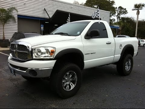 2007 dodge ram 1500 slt at autoline preowned for sale used test drive review jacksonville youtube. Black Bedroom Furniture Sets. Home Design Ideas