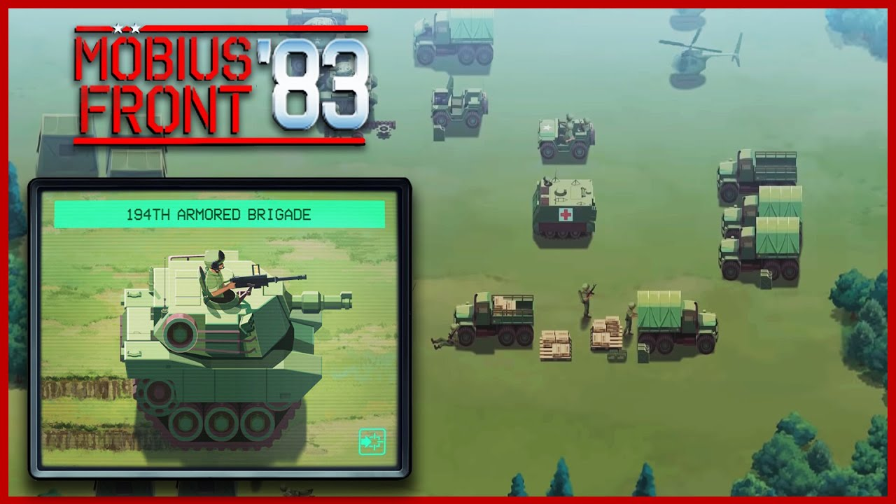 Mobius Front '83 | NEW Cold War Strategy Game | Advanced War Competitor?!