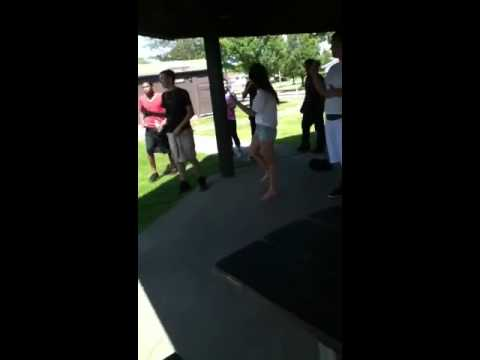 Two kids fighting in brookpark