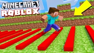 ROBLOX OBBY DANS MINECRAFT!?
