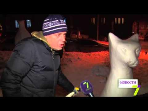 Одессит создает сказочные ледяные скульптуры