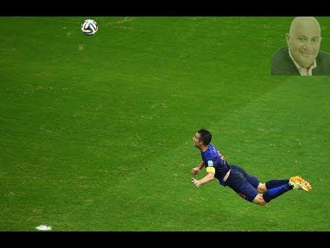 Van Persie Goal - Commentaar Van Gelder - Nederland Spanje