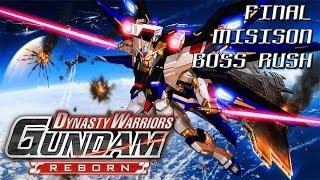 STRIKE FREEDOM VS THE MUSOU GUNDAMS - Dynasty Warriors Gundam Reborn Gameplay [EXPERT]