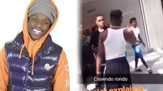 Quando Rondo Gets Checked By LA Goons