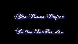 The Alan Parsons Project - To One In Paradise subtitulos en español