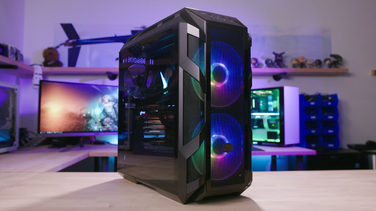 Here's what a $200 case gets you in 2018. H500M Build & Review