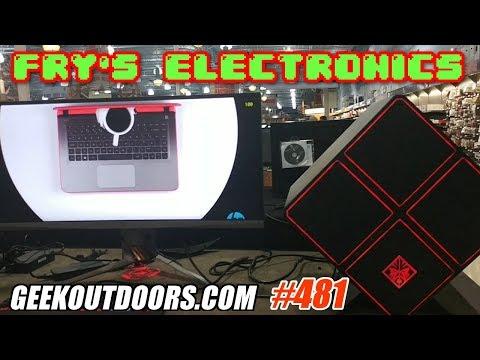 FRY'S ELECTRONICS ADVENTURE!!! #Geekoutdoors.com EP481
