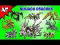 Every Lego Ninjago DRAGON - Complete Collection!