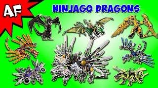 Every Lego Ninjago DRAGON Complete Collection