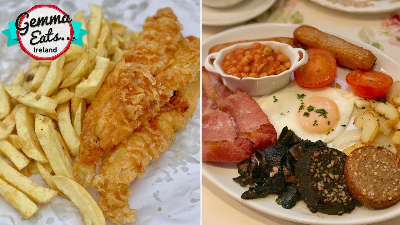 Gemma Eats...Ireland 2 | BEST IRISH FOOD Tour, FULL Irish Breakfast, BEST Fish & Chips