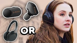 Sony WF-1000XM3 & WH Noise Canceling Headphones | Tutorial & Comparison