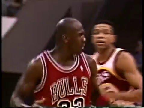 Jan 18, 1991 Bulls vs Hawks highlights