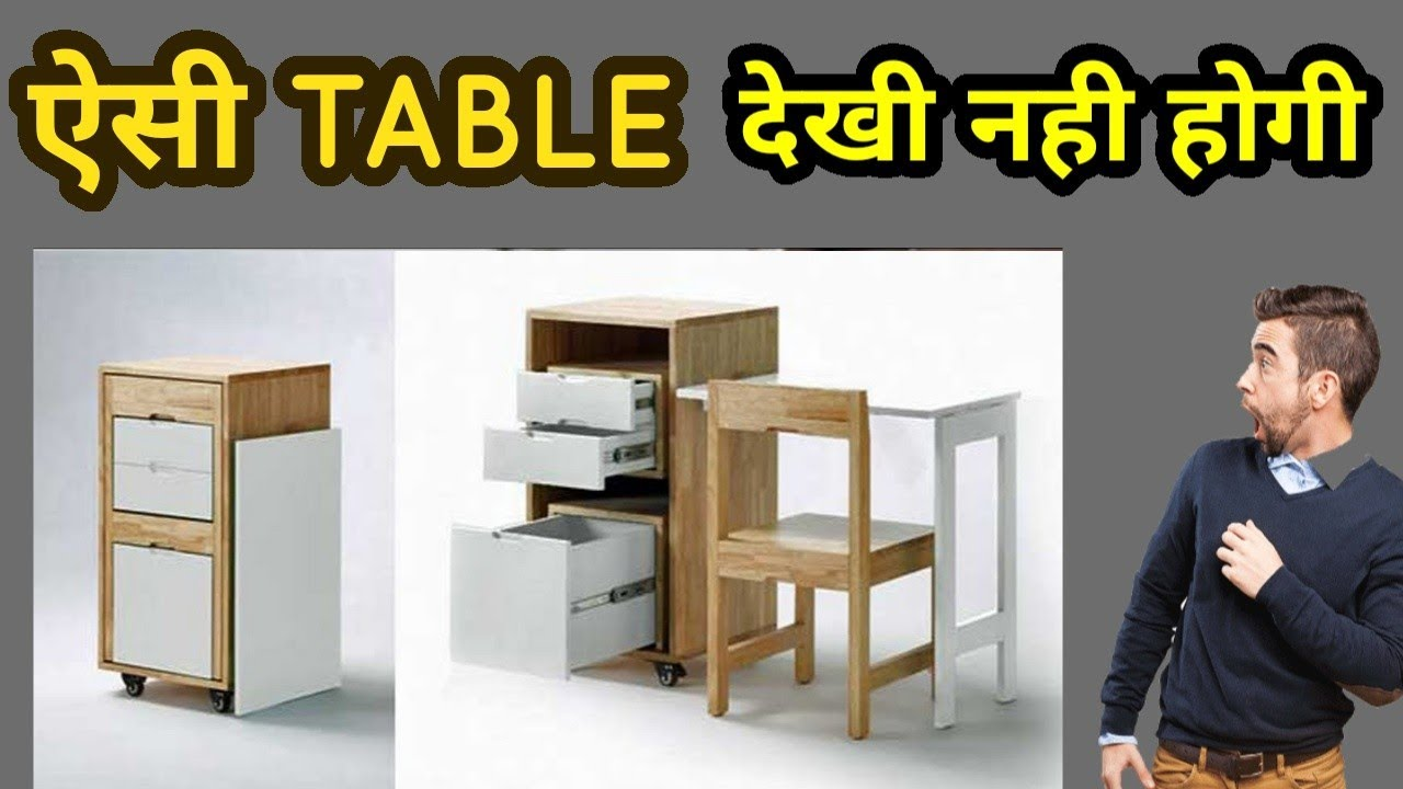 Micro Office For Small Spaces Space Saving Furniture Amazing Furniture Expand Furniture 1080p Youtube
