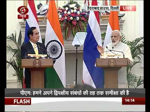 India- Thailand joint press statement